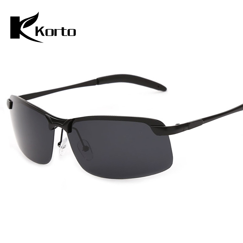Rectangle Men Sunglasses Polarized Fishing Eyewear Luxury Brand Rimless Sun Glasses for Man UV400 High Quality Driving Shades