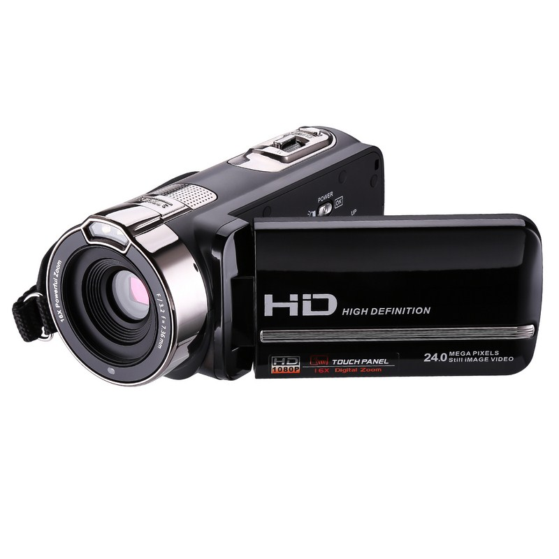 HD Digital Camera Video Camcorders Recorder 16X Zoom  CMOS 3.0 inch Touch Screen IR night vision DV DSLR Camera Multi-Languauge