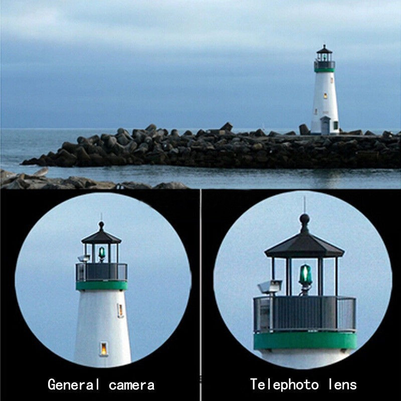 Universal 2016 12X Zoom Optik Lensa Kamera Ponsel Teleskop kit dengan - Aksesori dan suku cadang ponsel - Foto 4