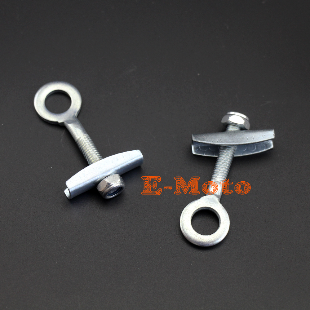 BICYCLE BIKE SCOOTER Mini Bike Belt or CHAIN TENSIONER axle ADJUSTERS PAIR of 2