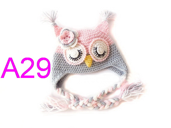 Newborn Sleepy Owl Hat aac6901c8f93
