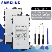 SAMSUNG Original Tablet Battery SP3770E1H 4600mAh For Samsung Galaxy Note 8.0 N5100 N5110 N5120 Replacement Mobile Phone Battery samsung original replacement battery sp3770e1h for samsung n5100 galaxy note 8 0 n5110 n5120 authentic tablet battery 4600mah