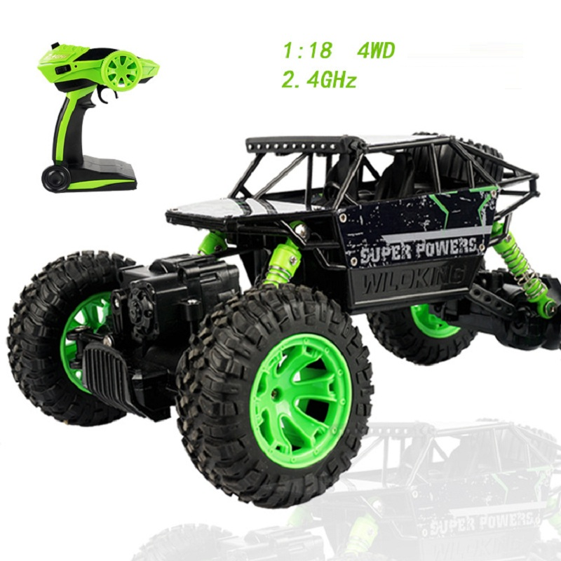 1:18 RC Car Toys For Children 2.4GHZ 4CH Rc Car 4WD Remote Control Cars