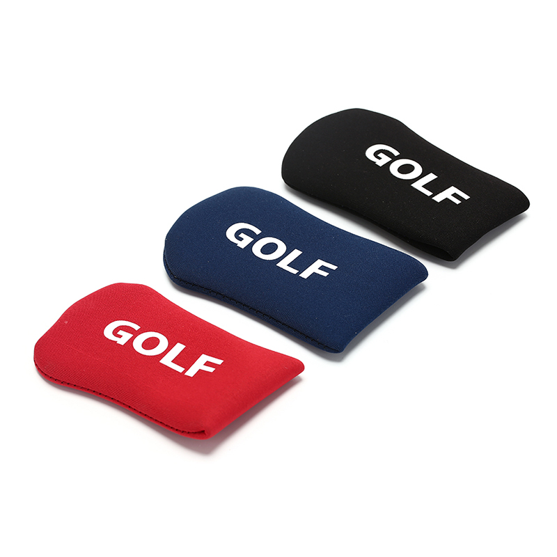 1Pc Nylon Protection Case Golf Club Iron Putter Headcover Set Black/Red/Blue