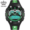 Large Outdoor Sports Teenagers Dial Electronic Watch Male Children Watch Male Students Show LED Double High School Students1339