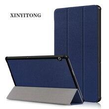 Чехол для huawei MediaPad T5 10, pu кожаный складной чехол-подставка для huawei MediaPad T5 10,1 AGS2-W09/L09/L03/W19 чехол для планшета