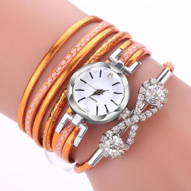 Watch Rose Gold Quartz Ladies Women's Watch Wristwatch Woman Fashion Causal Dress Watch Women Quartz Watch Bracelet   Wrist M3