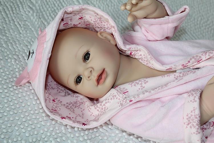 50cm 20 Quot Silicone Vinyl Body Soft Lovely Reborn Baby Doll