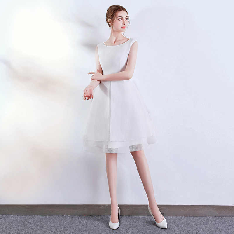 7fcc6bfb6 ... FADISTEE new design A-line short dresses cocktail party dress double  layers style simple ...