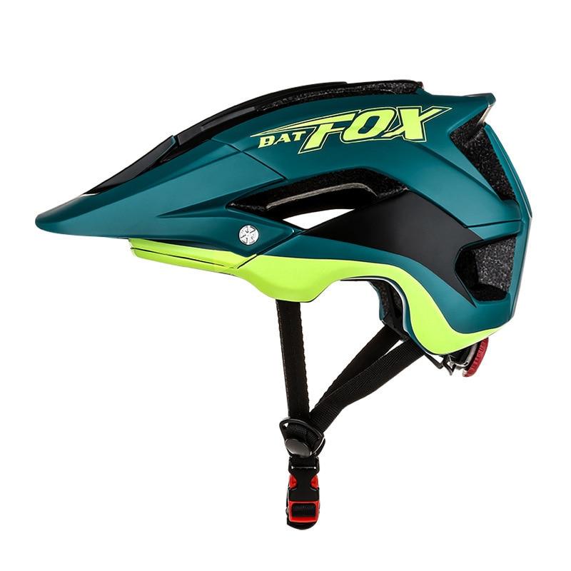 2018 BAT FOX Cycling Helmet New Overall Molding Mountain Bike Helmet High Quality Ultra light Bicycle