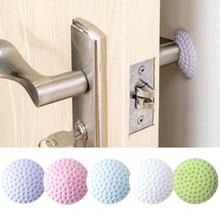 Мягкая резиновая прокладка для защиты стен, самоклеящаяся дверная пробка, наклейки на дверные крылья для гольфа, моделирования (белый/синий...