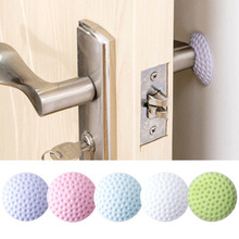Rubber-Pad Door-Stopper Door-Fender-Stickers Self-Adhesive Protect-The-Wall Green/purple