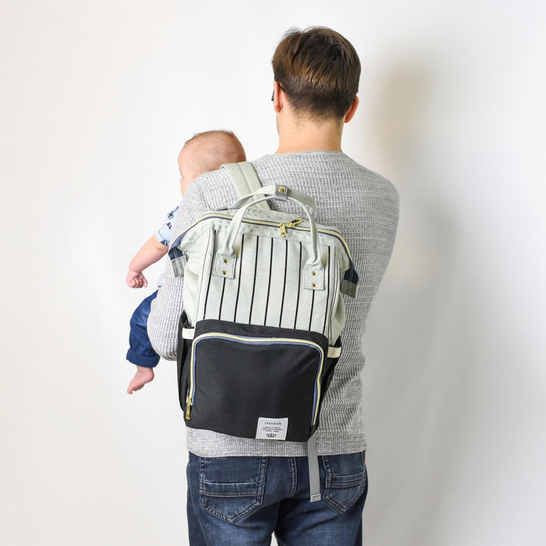 Maternity Bag Waterproof Diaper Backpack for Mom Nappy Bags Large Capacity Baby Bag Travel Mummy bag Maternity Bag Waterproof Diaper Backpack for Mom Nappy Bags Large Capacity Baby Bag Travel Mummy bag Designer Nursing Bag
