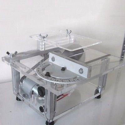 Multifunction Acrylic Portable Table Saw Cutting Machine Mini Eletric Saw Bench Polisher Polishing For Woodworking DIY