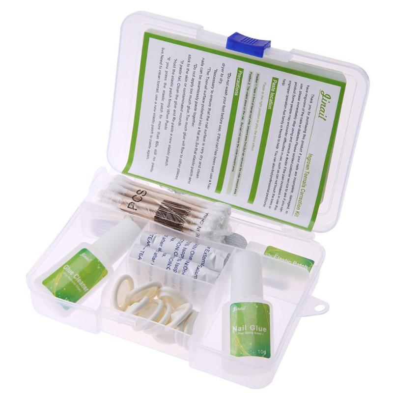 Ingrown Toenail Straightening Clip Lifter Fixer Set Kit Recover Thick Nail Paronychia Correction Kit Beauty Nail Treatment Tools