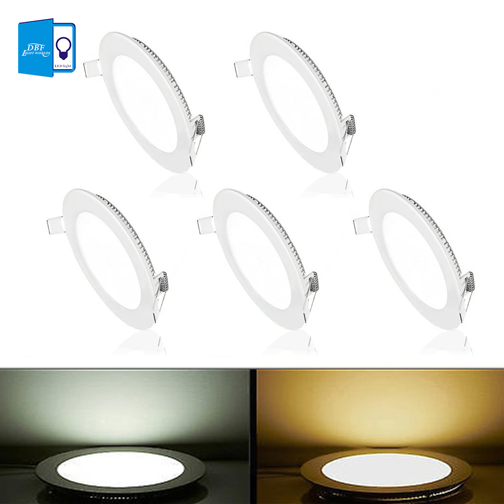 Downlights rodada painel de led luz Base Tipo : Wedge