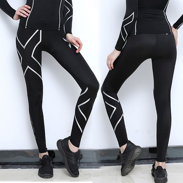f566db0357285 Australian brand women compression fitness tights female pants Joggers  Superelastic stretch pants breathable Joggers trousers