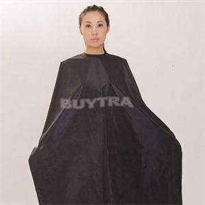 Black Hair Cutting Cape Salon Adult Waterproof Hair Cutting Hairdressing Cloth Barbers Hairdresser Cape Gown Wrap 140x 80cm