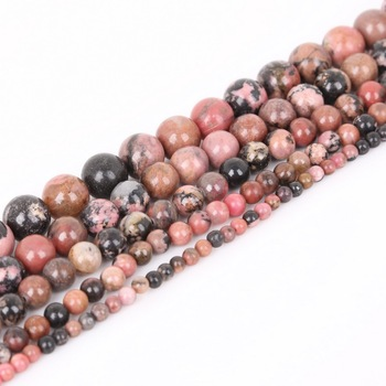 4 6 8 10mm Natural Stone Beads Matte Lava Tiger Eye Red Black Onxy  Loose Stone Beads For Jewelry Making DIY Bracelet Necklace 10