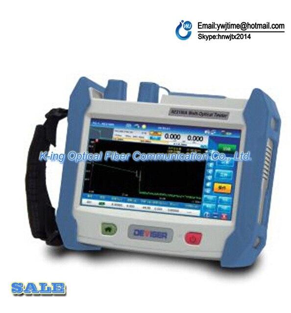 Бесплатная доставка Изобретатель AE3100A 30/28dB OTDR FC/SC Ручной FTTH OTDR 1310/1550 Встроенный VFL Оптический время-рефлектометр