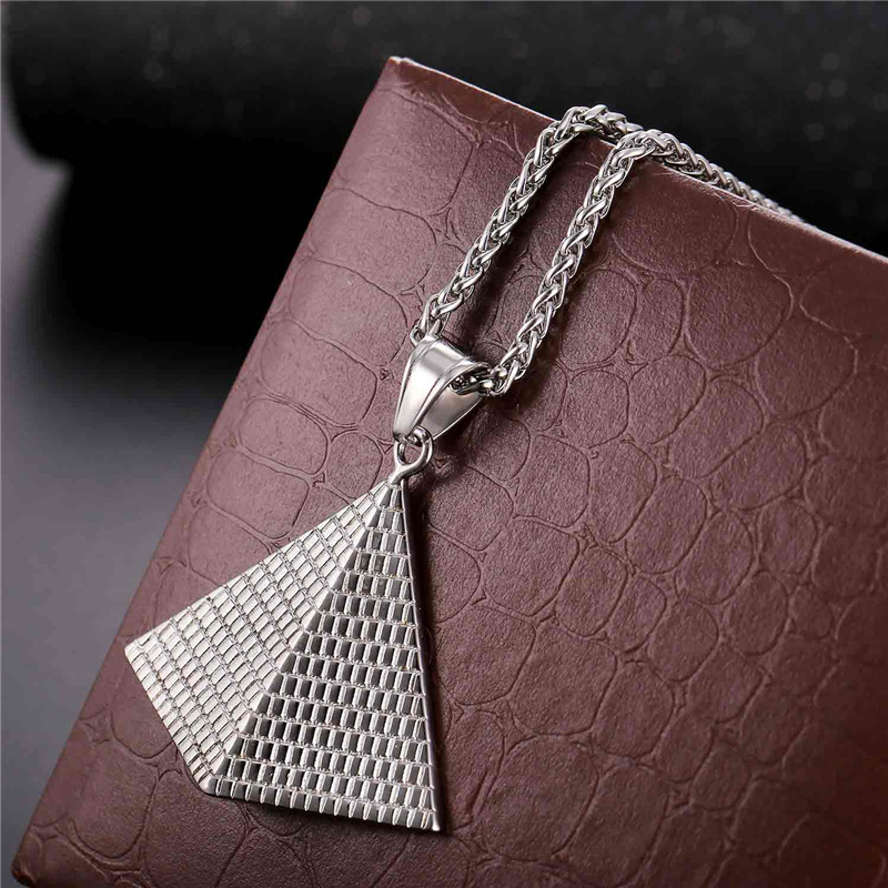 Illuminati Pyramide-Halsketten für Frauen / Männer arbeiten - Modeschmuck - Foto 5