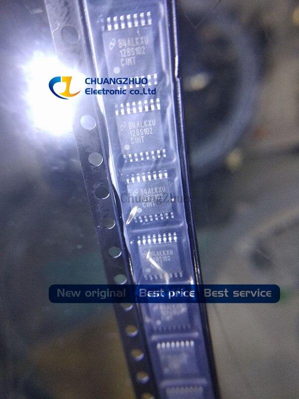 New original ADC128S102CIMTX ADC128S102 128S102 16-TSSOP 12BIT 8CH 0.5-1 MSPS ADC