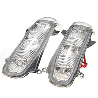 1 Pair Front Turn Signals Lights For Mercedes Benz W220 S320 S430 S500 Side Mirror Turn