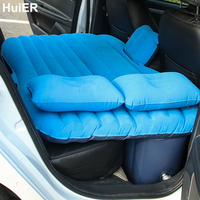 HuiER Hot Car Air Mattress Car Seat Covers Air Inflatable Bed Mattress For Travel Car Styling