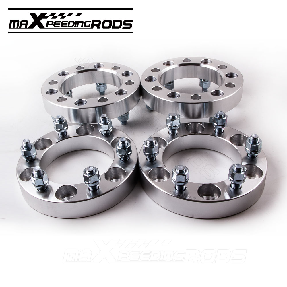 4 PCS 30mm Wheel Spacers Adapters 6x5.5 M12x1.5mm for Toyota Hilux Landcruiser Pickup for Mitsubishi Montero  Isuzu
