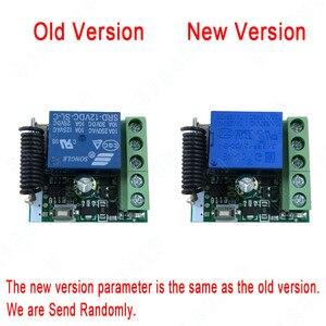 Image 2 - QIACHIP 433 MHz Universel Sans Fil Commutateur de Commande À Distance DC 12 V 1 CH RF Relais Récepteur 433 MHz Module Récepteur pour les Commutateurs De Lumière