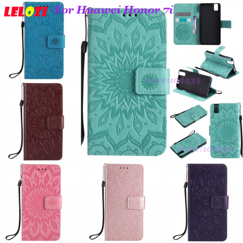 LELOZI Phone Telefono Wallets Retro PU Leather TPU Case Funda Caso For Huawei Honor 7i H ...