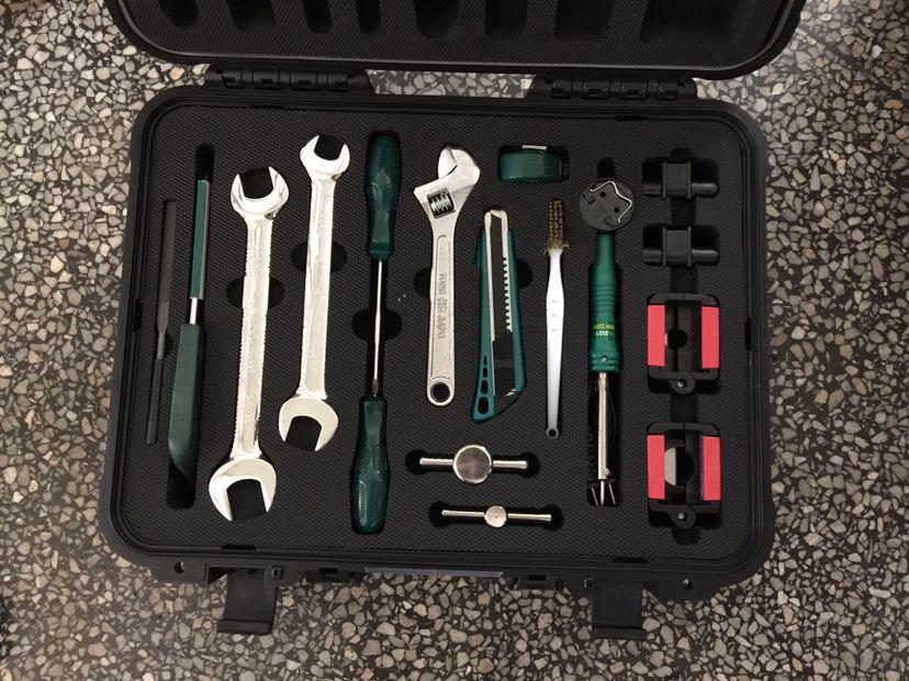 Waterproof Shockproof Plastic Suitcase For Tools