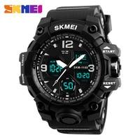 New Military Sport Watch Men SKMEI Electronic LED Digital Wrist Watch Male Clock 50M Waterproof Quartz