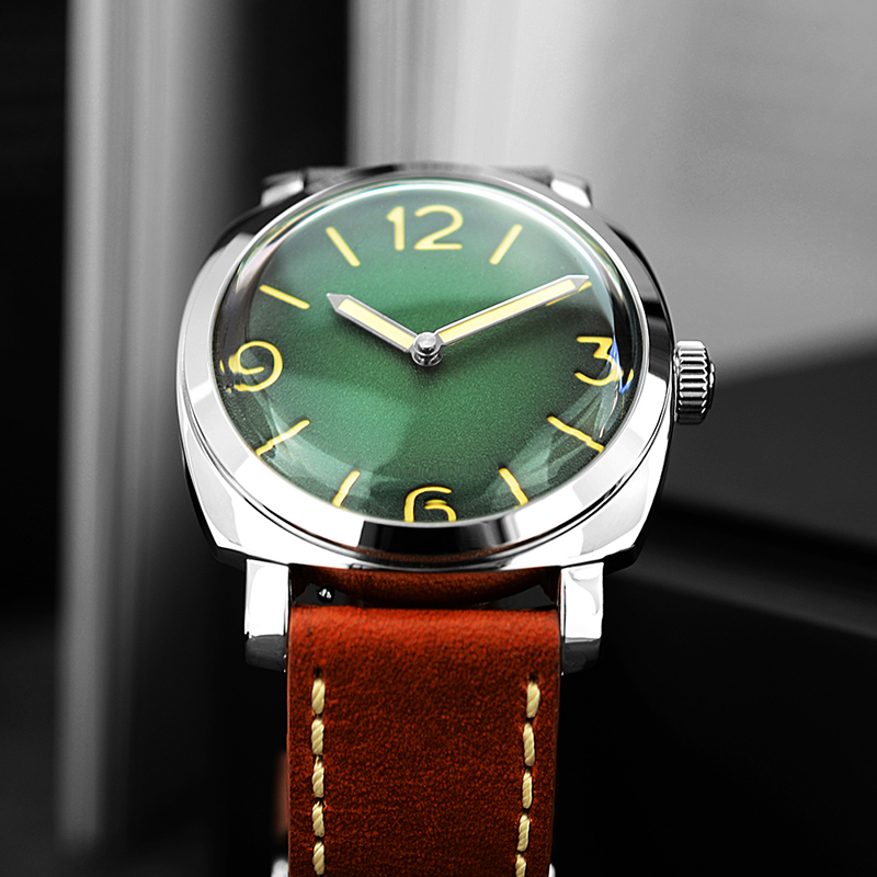 Men Fashion Watch Automatic Diving Watches 200m Water Resistant Luminous Hands Vintage San Martin Stainless Steel Wristwatch