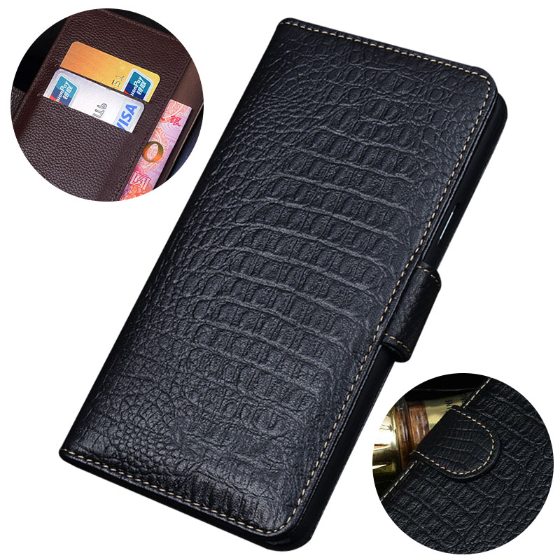 For Huawei P20 pro magnetic Smart Genuine leather flip case 3D Crocodile texture luxury business cover for Huawei P20 pro case in Flip Cases from Cellphones Telecommunications