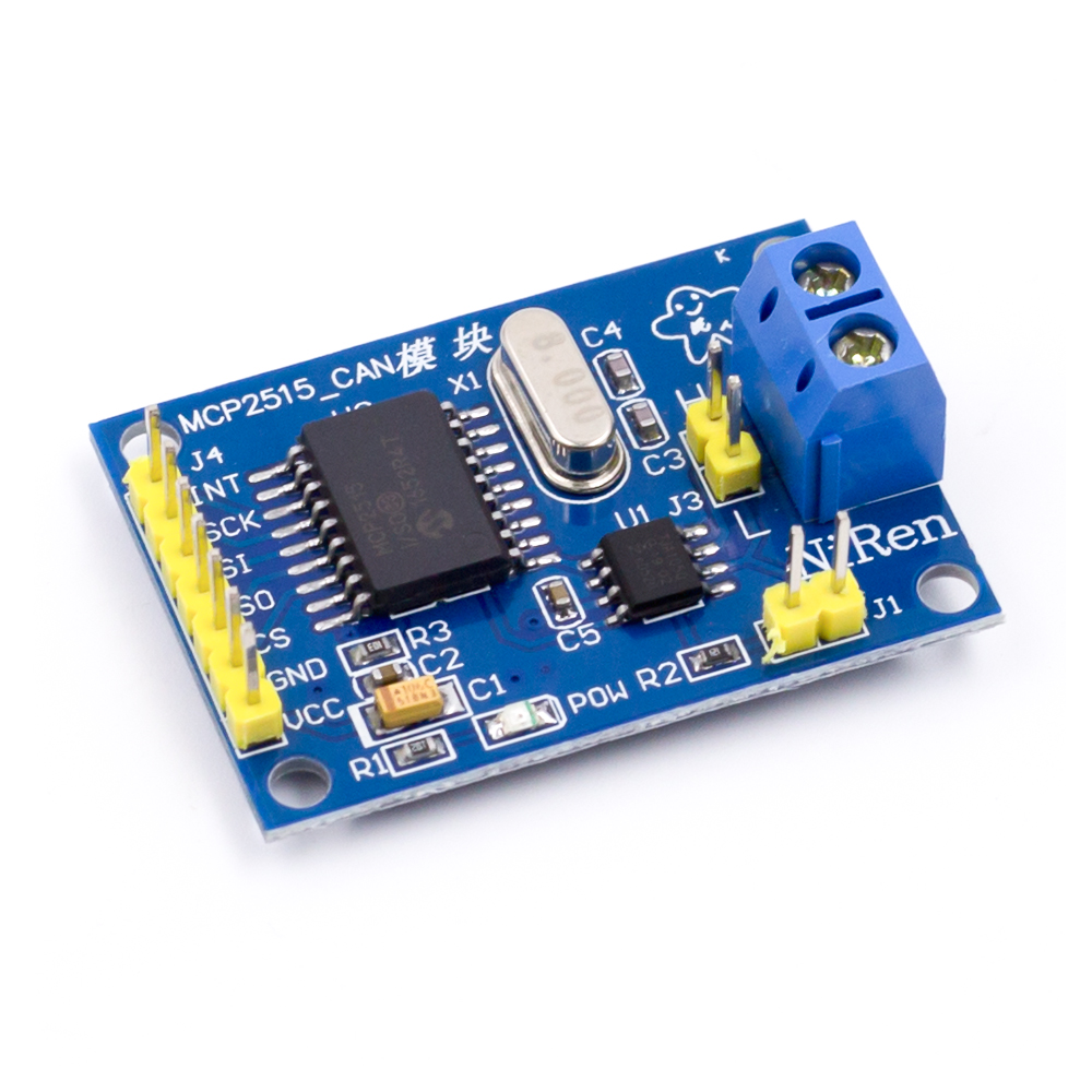 MCP2515 CAN Bus Module TJA1050 Receiver SPI 51 Single Chip Routines image
