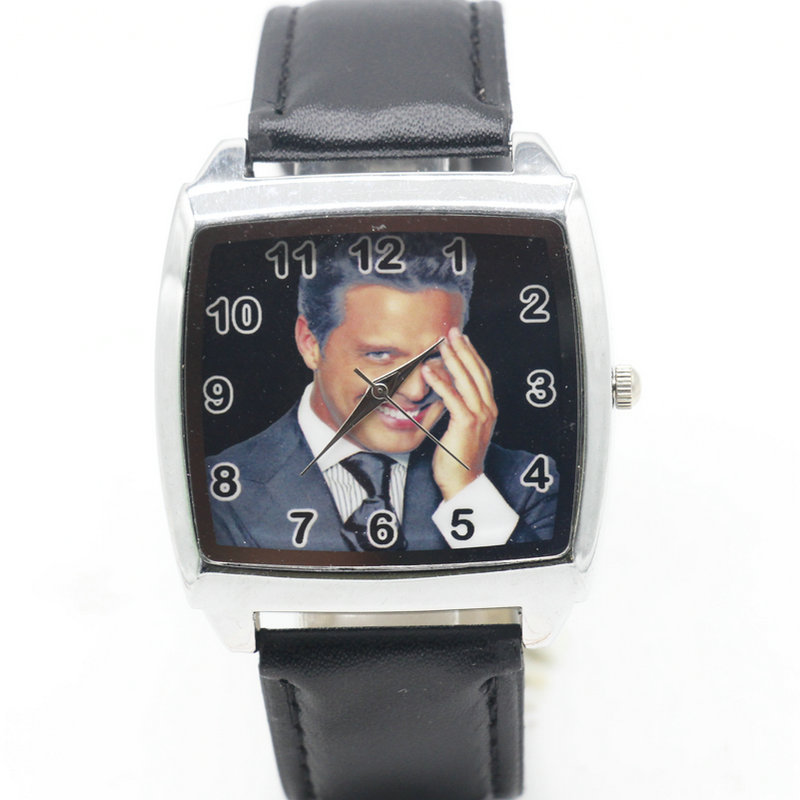Cartoon Children Luis Miguel Watch Fashion Lovely Cute Kids Watches for Student Boy Girl Leather Sports Clock saat