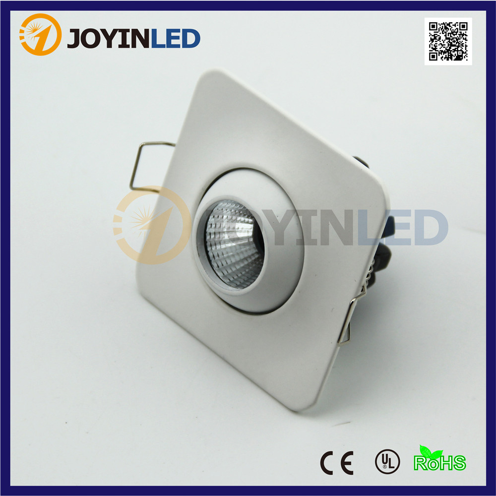 10pcs LED Mini Dimmable Downlight 3W COB Luminaria Led