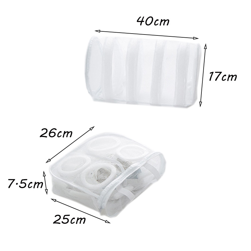 Mesh Hanging Sneaker Laundry Bags Shoes Protect Wash Machine Home Storage Organizer Accessories Supplies Gear Stuff Product in Laundry Bags Baskets from Home Garden