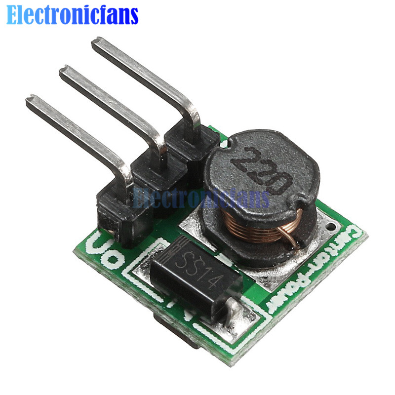DC-DC 0.8-3.3V to 3.3V Boost Step up Power Module Voltage Converter Mini Arduino