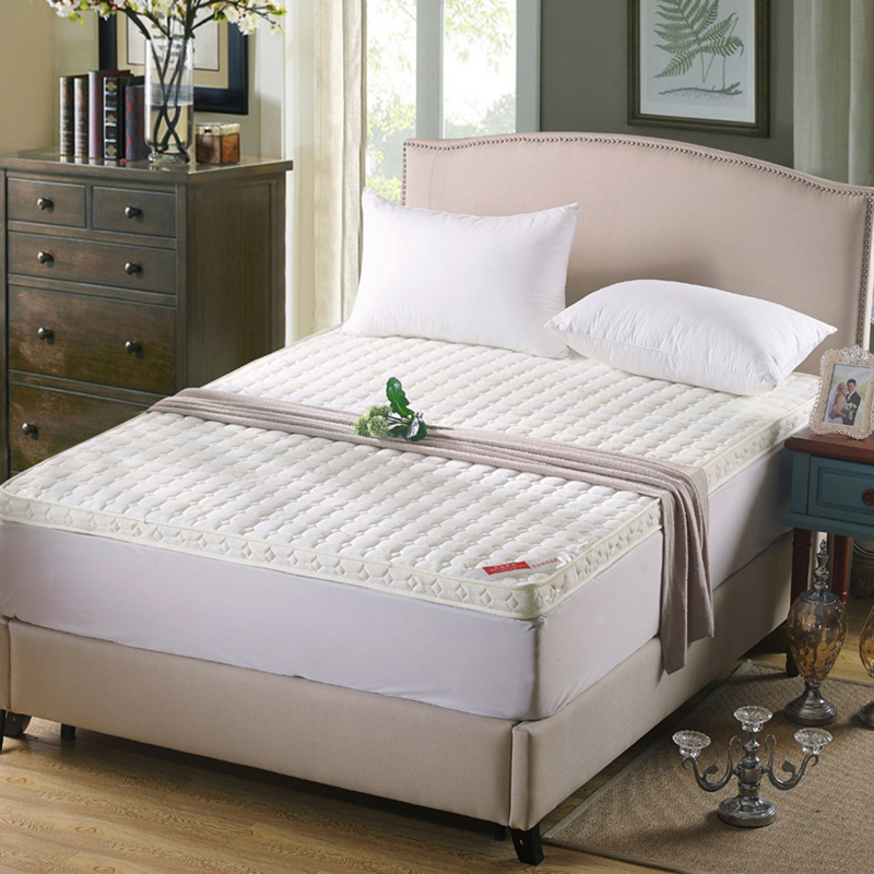 все цены на Simple And Natural Thick Warm Foldable Single Or Double Mattress Fashion NEW Topper Quilted Bed