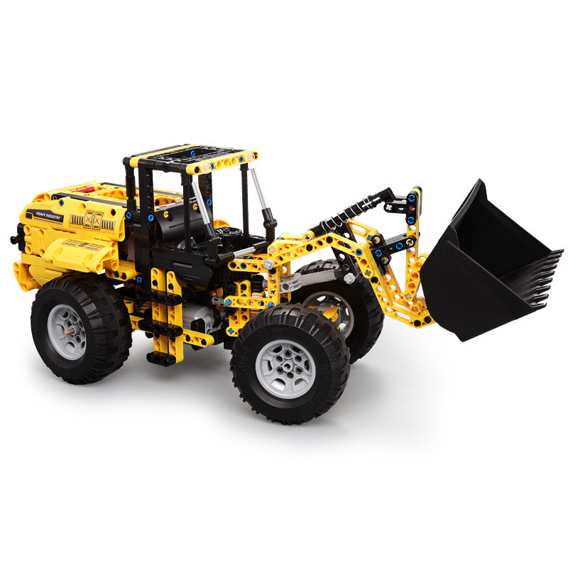 Technic Engineering Vehicle RC Remote Control Bulldozer Excavator Building Blocks Toys for Children Compatible With L Brand-in Blocks from Toys & Hobbies    3