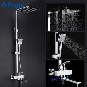 Image 5 - Frap מקלחת ברזי למעלה באיכות עכשווי אמבטיה מקלחת ברז אמבטיה ברזי גשם ראש מקלחת סט מיקסר Torneira
