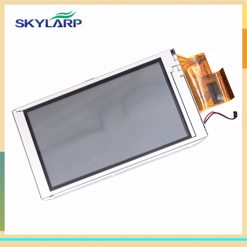 skylarpu 4 inch LCD screen LQ040T7UB01 for GARMIN MONTANA 600 600t Handheld GPS LCD display Screen with Touch screen digitizer skylarpu 3 inch lcd for garmin colorado 300 handheld gps lcd display screen without touch screen free shipping