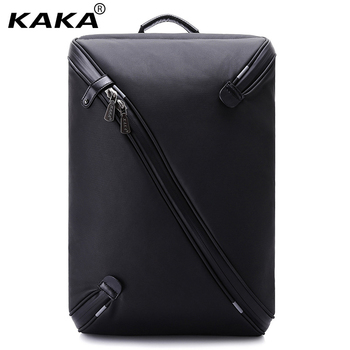 KAKA Brand 2018 New Men Business Backpack for 15.6 Inch Laptop Women Waterproof  Black Daily School Backpack Travel Luggage Bags Рюкзак