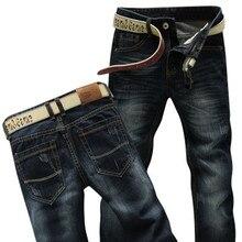 2015 High Quality Black Men Jeans Keans Premium Select Classic-Fit Straight-Leg Mens Biker Jeans Famous Brand premium jeans men