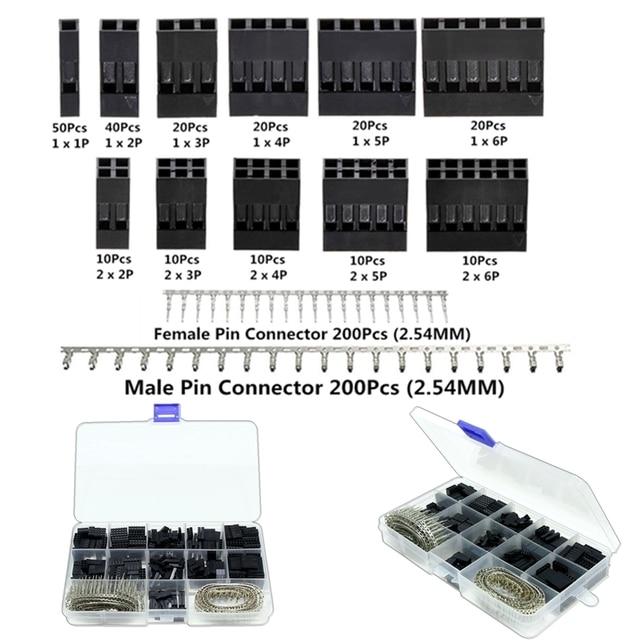 aliexpress com buy 620pcs dupont connector 2 54mm dupont cable rh aliexpress com