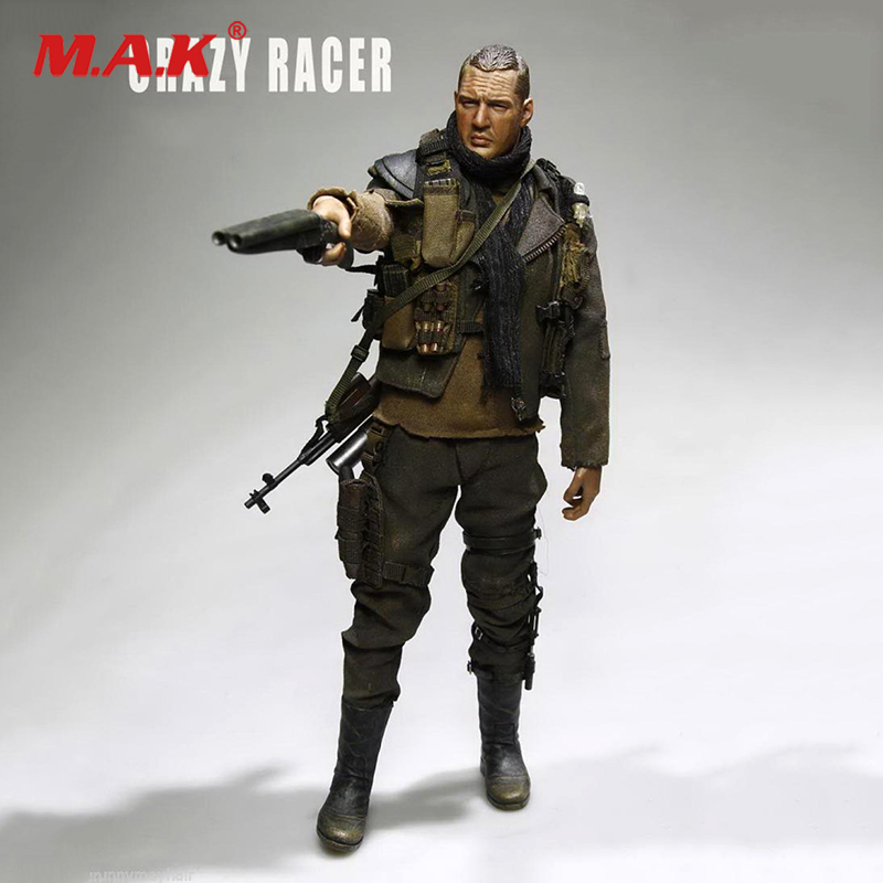 Full set 1/6 Scale AF019 Action figure Toy Crazy Racer Mad Max Fury Road Tom Hardy DollFull set 1/6 Scale AF019 Action figure Toy Crazy Racer Mad Max Fury Road Tom Hardy Doll