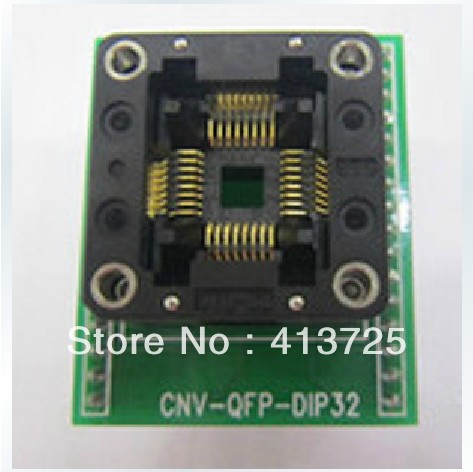 Import CNV-QFP-DIP32 burning adapter to test pressure