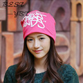 2016 Men and Women In Autumn and Winter Knitted Hat Hedging Month of Winter Outdoor Fashion Korean Tidal Piles Cap Warm Ear
